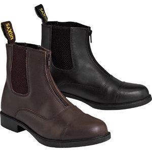 Pelham Saddlery: Saxon Action Leather Zip Paddock Boots Child
